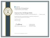 CertificateOfCompletion_Improve Your UX Design Skills